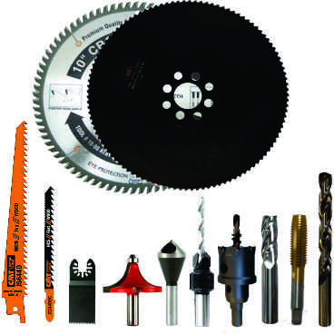 Cutting Tools & Saw Blades